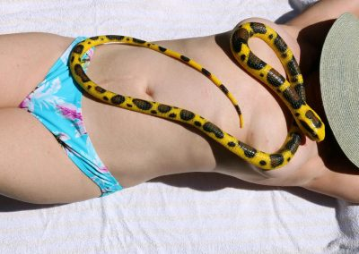 Woman With Snake 1